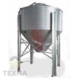 Бункер для корма 0,54 т / 0,9 м куб