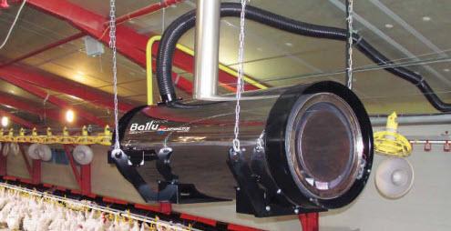 Теплогенератор стационарный дизельный Ballu-Biemmedue BH50 oil
