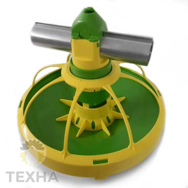 Кормушка KoChiBo для выращивания тяжелого бройлера, 8 лучей