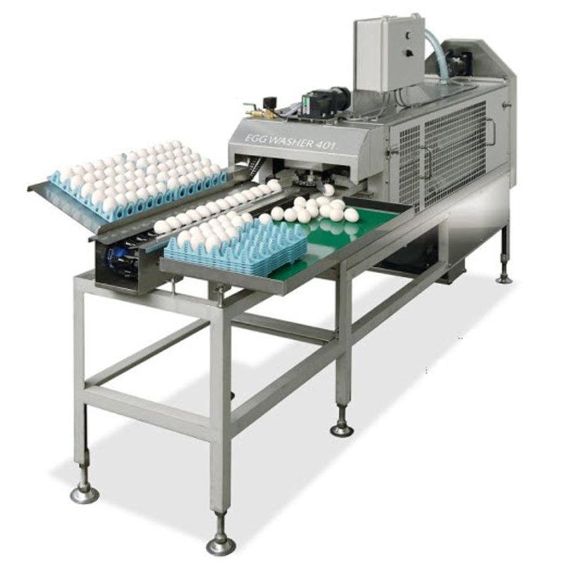 Машина для мойки яиц Nabel NEW 401 (3 750 яиц/час)